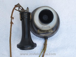 Wall Phones - Western Electric 130 Doughnut Phone 1