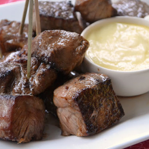 Steak Bites with Garlic Aïoli
