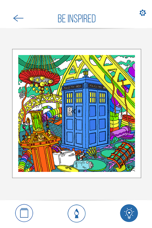 BBC Colouring: Doctor Who Screenshot 3