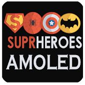 Free Download Super Heroes AMOLED - Always ON DISPLAY APK for Samsung