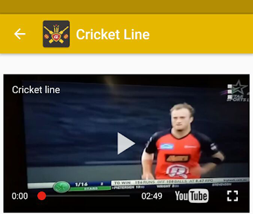 Cricket Line APK for Bluestacks