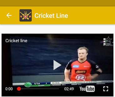 Cricket Line APK for Bluestacks