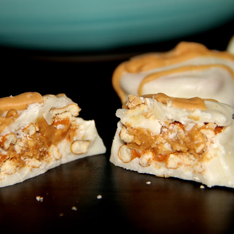 White Chocolate Peanut Butter Pretzel Bites