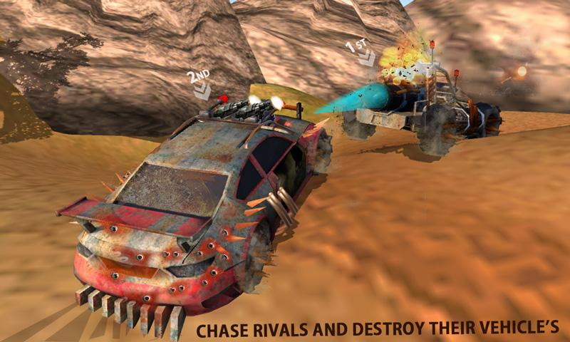 Buggy Car Race: Death Racing Screenshot 4