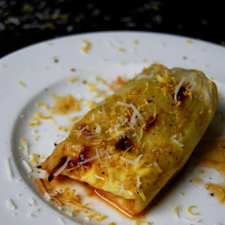 Ginger Lemon Ricotta stuffed Cabbage Rolls