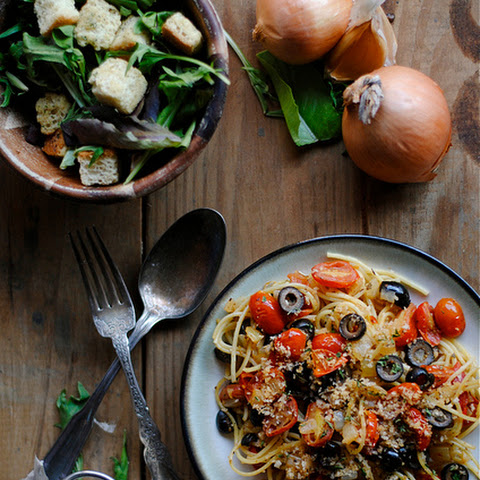 Tomato and Olive Pasta