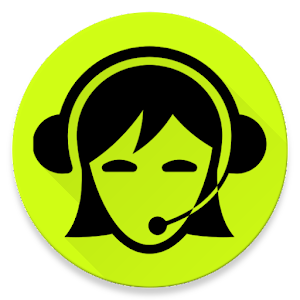 Translator Women's Voice Icon