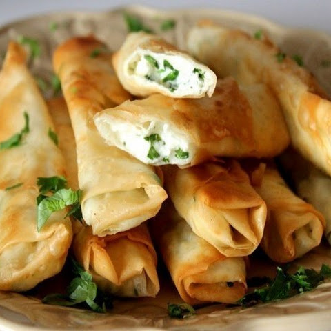 Rolls Stuffed With Cheese And Herbs