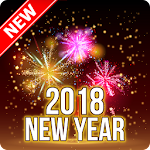 Happy New Year Wish Messages 2018 Icon