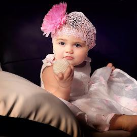 Look what I have.. by Michael Karakinos - Babies & Children Babies