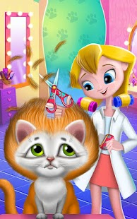 Game Crazy Cat Salon-Furry Makeover APK for Kindle