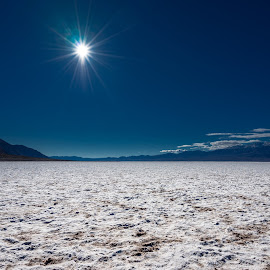 Badwater in Death Valley by Jose Matutina - Landscapes Deserts ( death valley, mountains, dry, badwater, desert, park, california, national, sel1635z, trip, landscape, sony a7ii, united states,  )