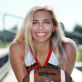 MALLORY by Diana Cantey - Sports & Fitness American and Canadian football ( diana cantey sports photography, diana cantey sr. portrait photography, cheerleader photos, diana cantey photography, diana cantey,  )