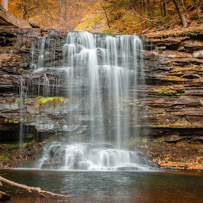 Harrison Wrights by David Long - Landscapes Waterscapes ( waterfall, pennsylvania, ricketts glen )