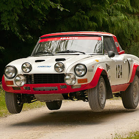 Goodwood festival of speed by Pascal Aunai - Sports & Fitness Motorsports ( abarth, festival of speed, goodwood, angleterre, fiat, vhc, rallye )