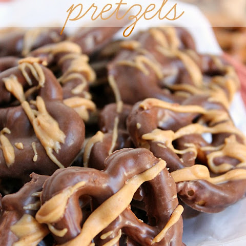 Chocolate Peanut Butter Pretzels