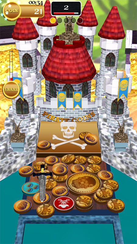 Pirate Coins Screenshot 1