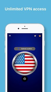 USA VPN - Free VPN Proxy & Wi-Fi Security Screenshot