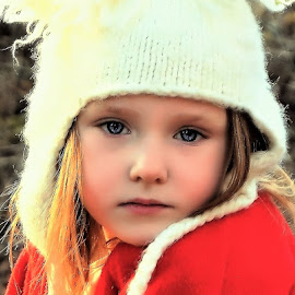 Thinking Out Loud by Cheryl Korotky - Babies & Children Child Portraits