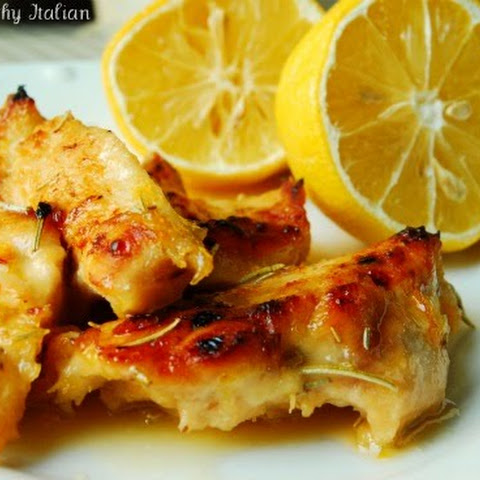 Roasted Chicken with a Citrus Glaze
