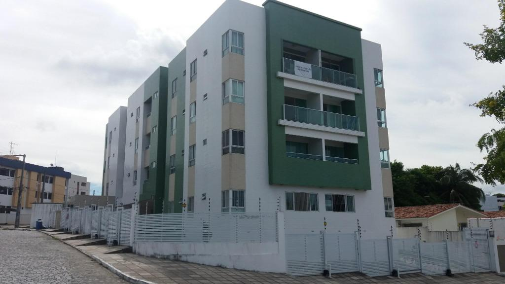 Apartamento com 3 dormitórios à venda, 77 m² por R$ 260.000 - Bancários - João Pessoa/PB