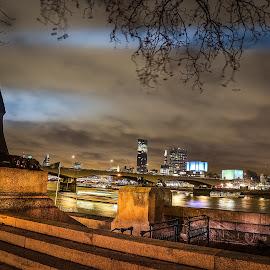London by Mihai Sirb - City,  Street & Park  Vistas ( kiss, london eye, london, beautiful )