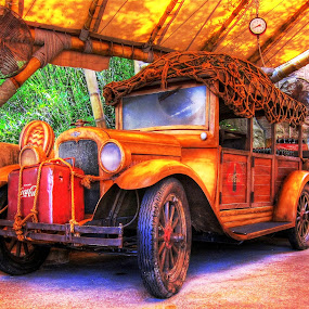 The Jalopy by Edward Allen - Transportation Automobiles