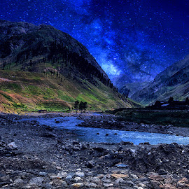by Abdul Rehman - Landscapes Starscapes