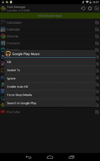 Task Manager (Task Killer) screenshot 10
