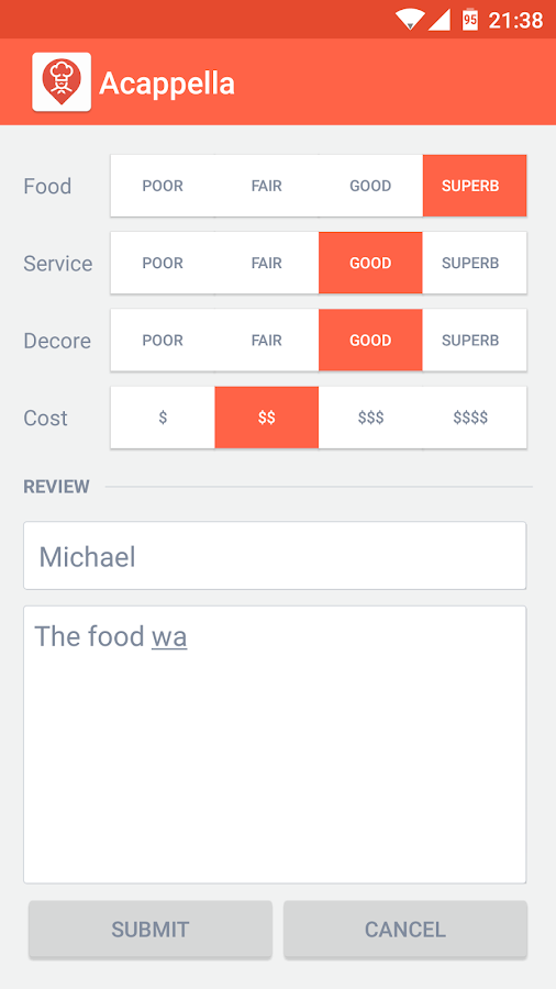 Restaurant Finder Screenshot 4