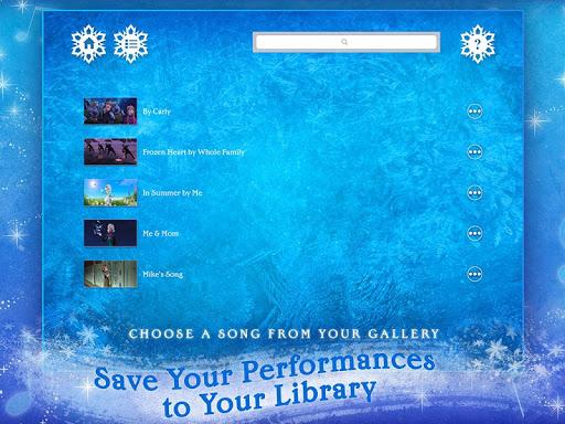 Disney Karaoke: Frozen - screenshot
