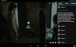 Screenshot of YLE Areena