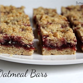Berry Oatmeal Bars