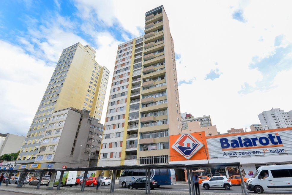 AP0297-ROM, Apartamento de 1 quarto, 60 m² à venda no Centro - Curitiba/PR