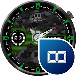 Watch Face Military Camouflage