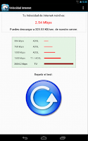 Screenshot of Test de Velocidad de Internet