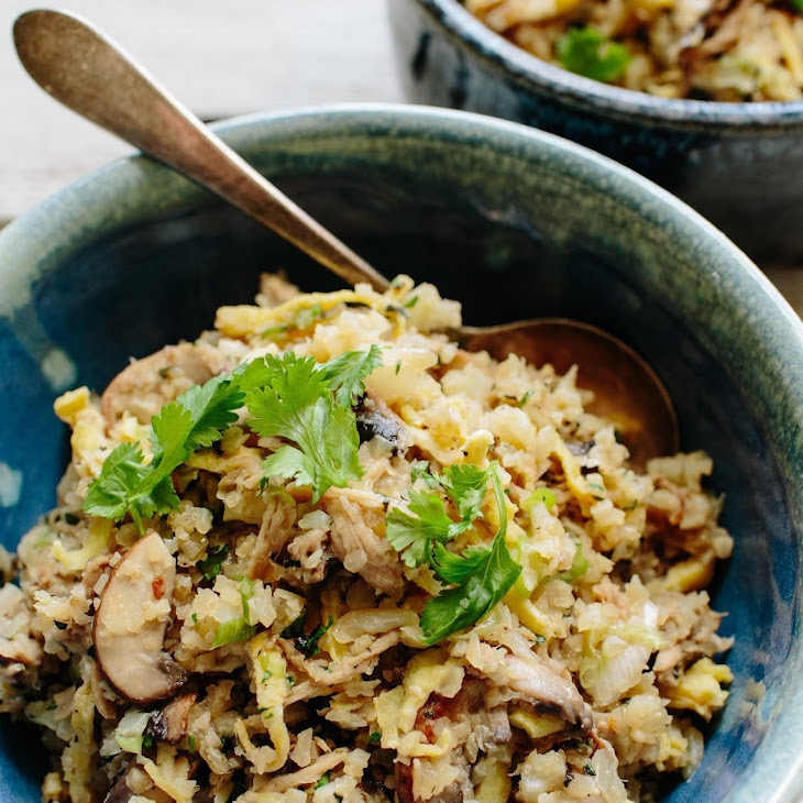 Asian Cauliflower Fried Rice with Kalua Pork Recipe | Yummly