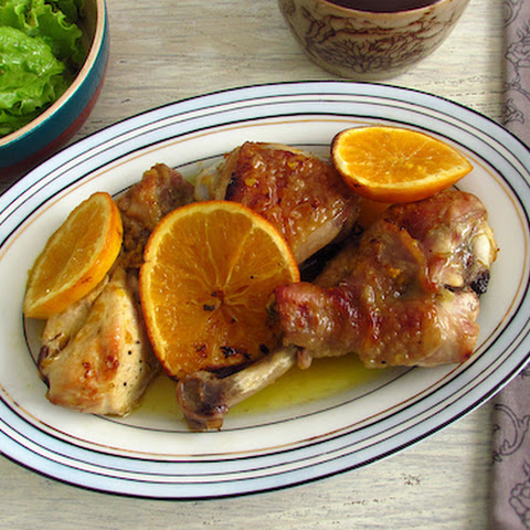 Roasted Chicken With Orange