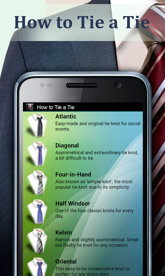 How to Tie a Tie Pro Screenshot