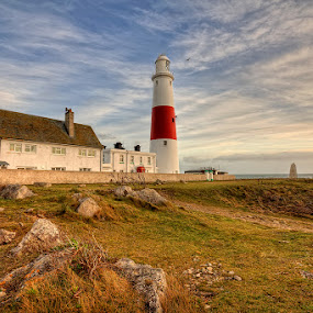 Portland Bill ... by Pawel Tomaszewicz - Buildings & Architecture Other Exteriors ( clouds, portland, europe, bill, hdr, colors, colours, dri, hdri, england, sky, anglia, wymouth, dorset )