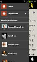 Screenshot of OSHO Vaani (Hindi)
