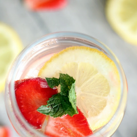 Strawberry Lemon Rosé Sangria