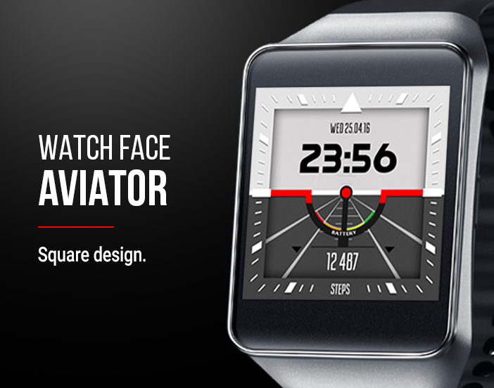 Watch Face: Aviator Screenshot 2
