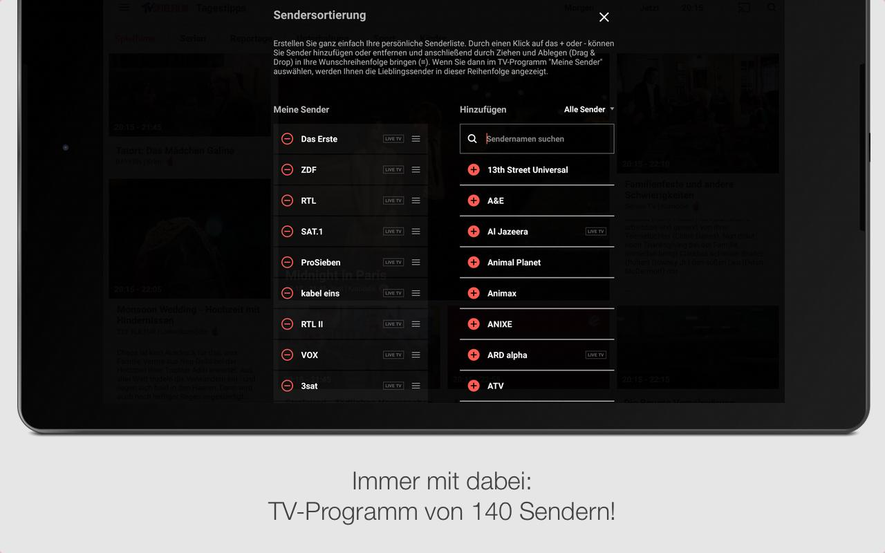 TV SPIELFILM - TV Programm Screenshot 8