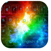 Free Colorful Galaxy Keyboard Theme APK for Windows 8