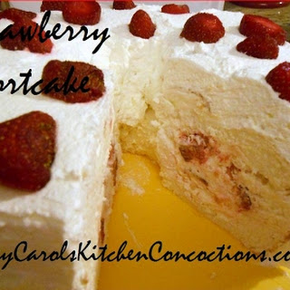Stuffed Strawberry Shortcake