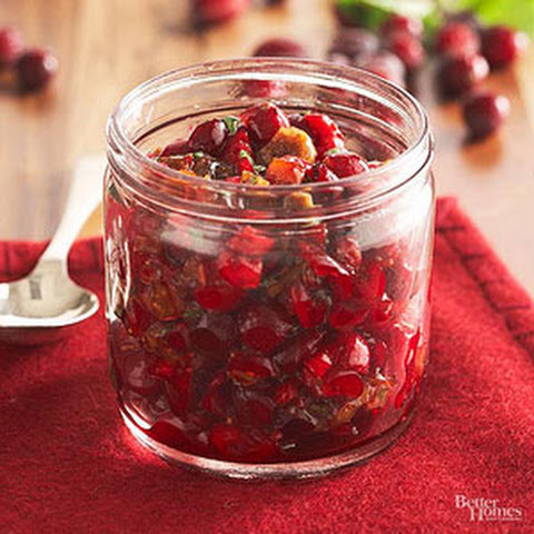 Cranberry-Fig Relish