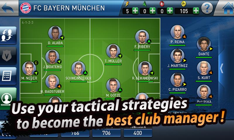 PES CLUB MANAGER Screenshot 3