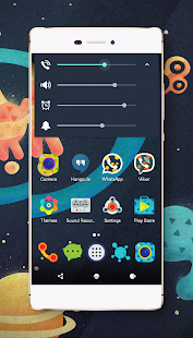 Space cm13 cm12 theme engine- screenshot thumbnail