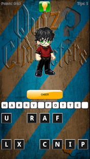 Quiz of Harry Potter Character - screenshot